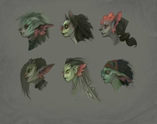 Goblin Head Concepts
