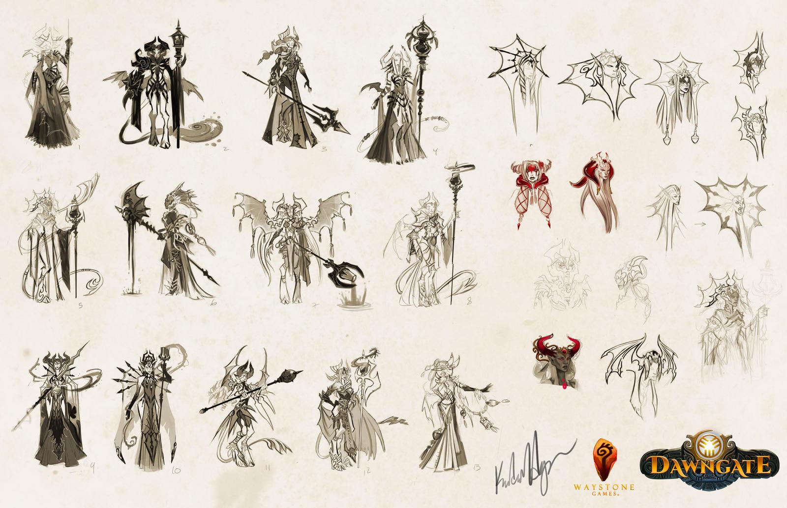 Viyana Sketches by UlaFish