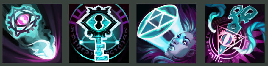 Mina Ability Icons by UlaFish