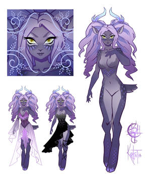 Lavender and Opals Faun Adopt [CLOSED]