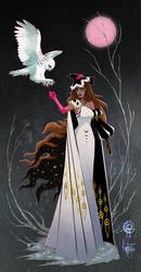 Snowy Owl Witch Adopt [Closed]