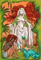 Girl, Goddess, Saint by UlaFish