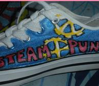 Steampunk Shoe by Jadey-The-Shadow