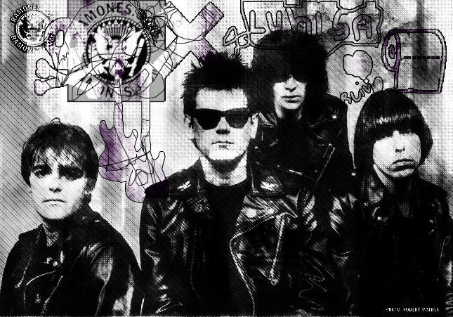 Ramones by dirtywords