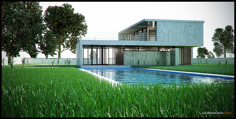 Modern House 1 by jordygraph