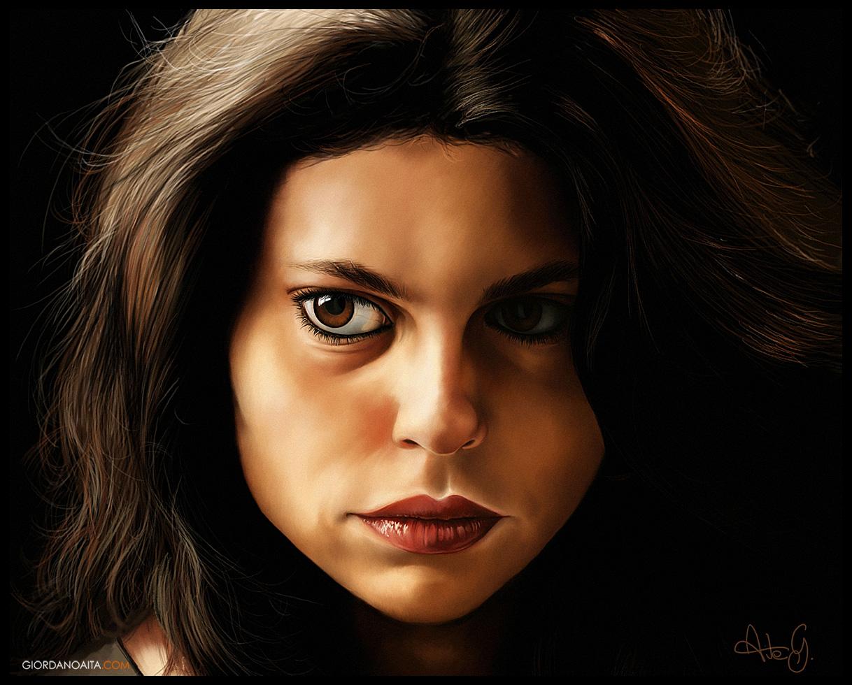 Corinne Vigo Singer Portrait by jordygraph