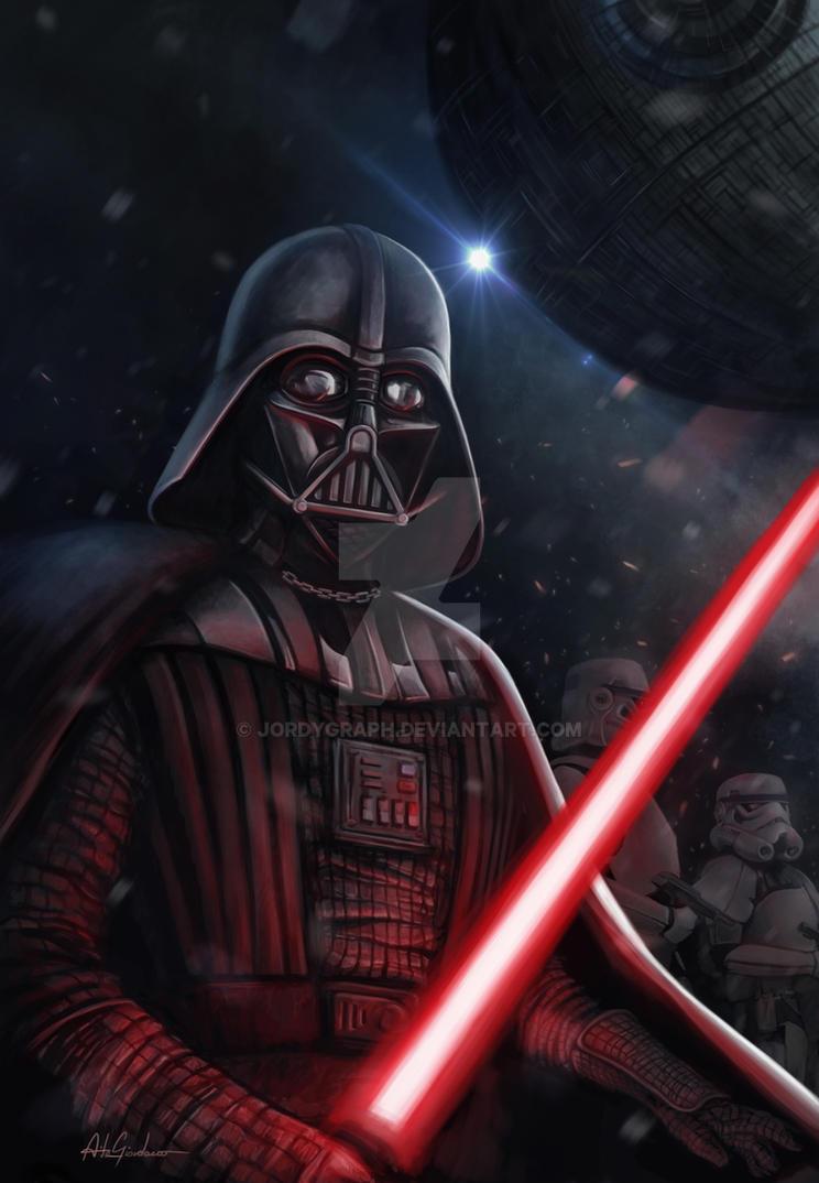 Darth Vader by jordygraph