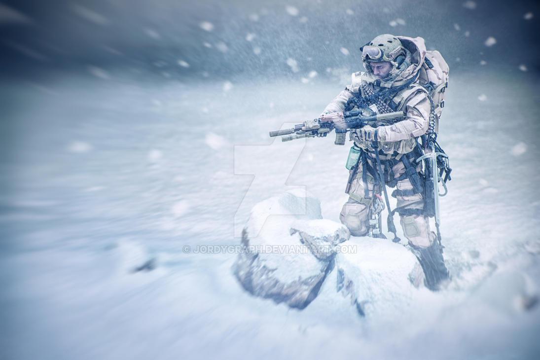 SnowSoldier01 by jordygraph