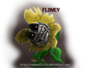 (Undertale) Flowey Art