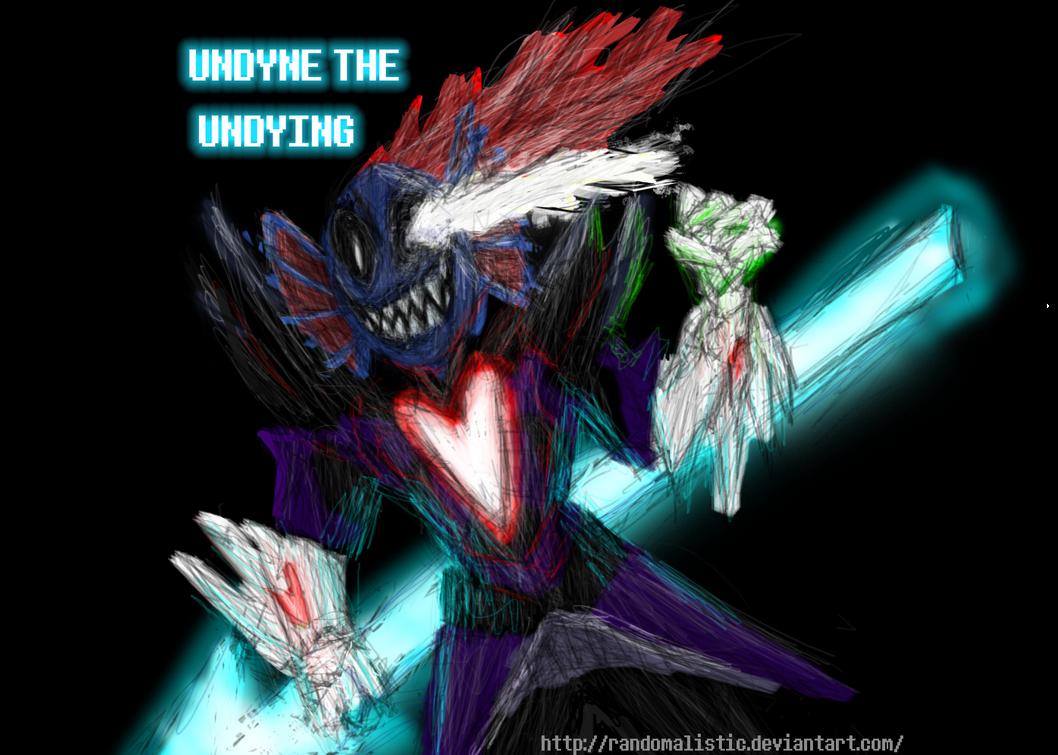 Undyne Undying By Shadowolfz Deviantart – Wonderful Image