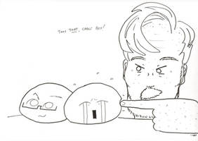 Conan in Mochi Battle by thedailyconan