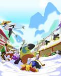 Kung Fu Panda: Snow Ball Fight
