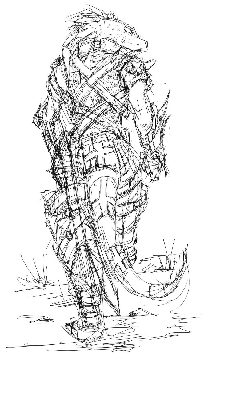 Dragon Soldier by Purpleground02