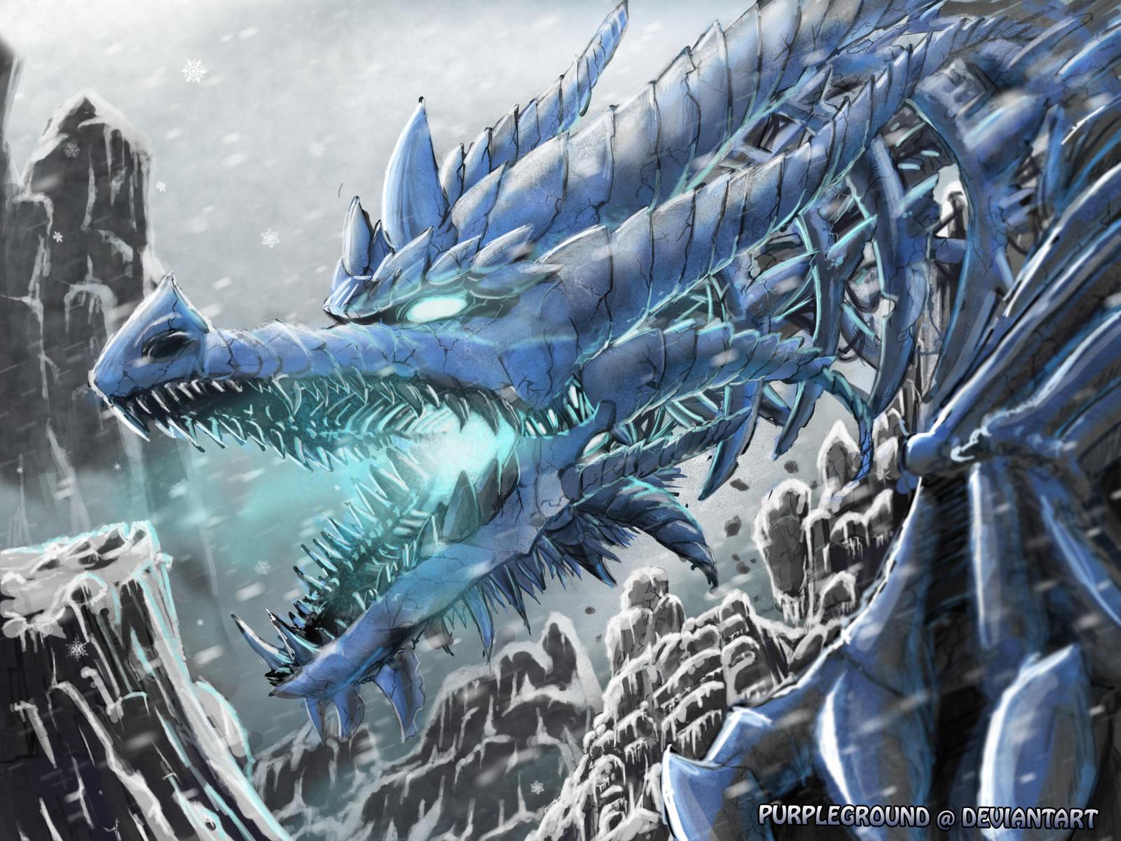 Frost wyrm by Purpleground02