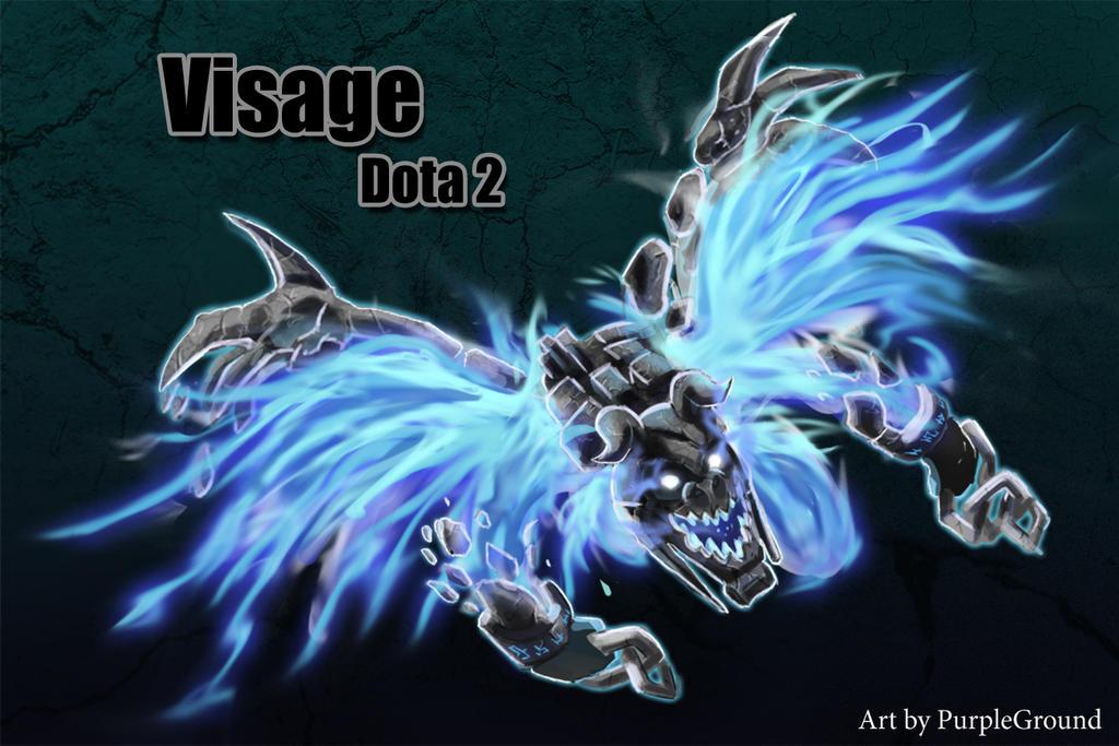 Visage Dota 2 Visage Dota 2 by Purpl...