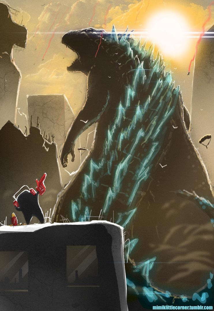 Godzilla 2014 by Purpleground02