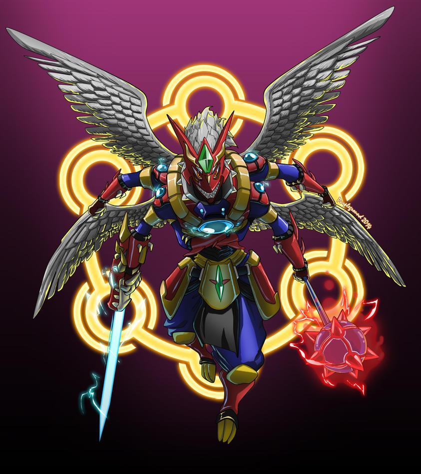 [COMMISSION] Mega Fusion by Purpleground02