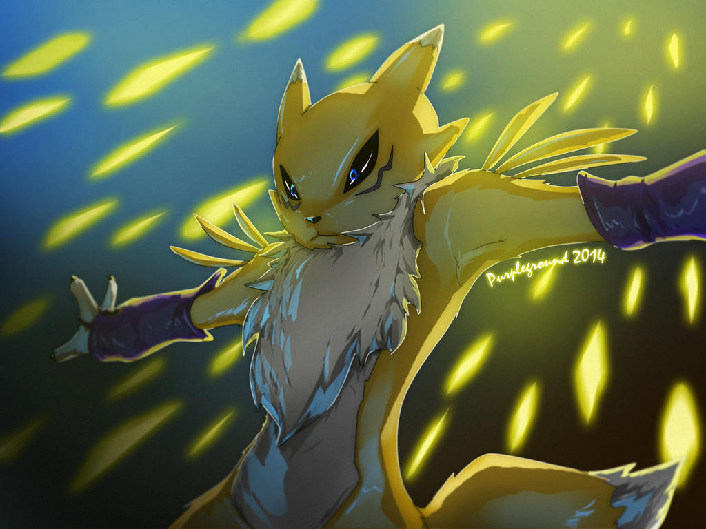 Renamon: Diamond Storm by Purpleground02