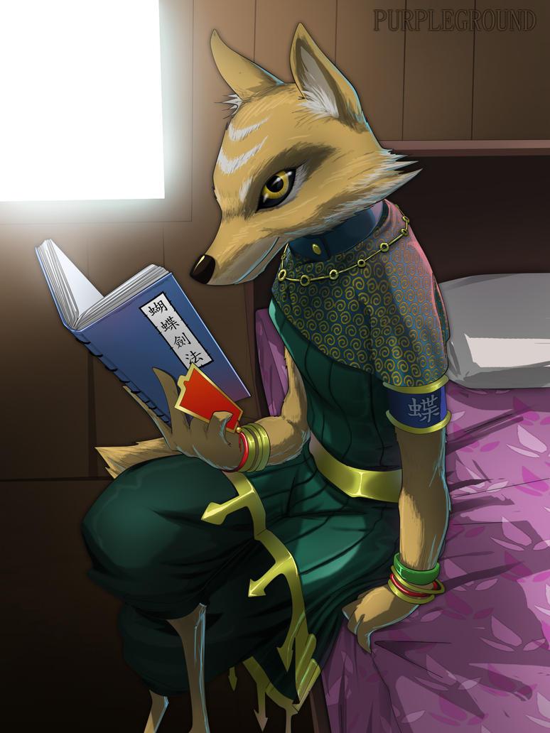 Reading by Purpleground02