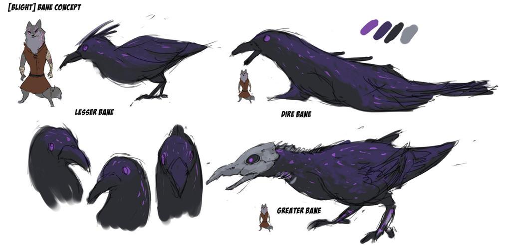 [BLIGHT] Bane Concept Design by Purpleground02
