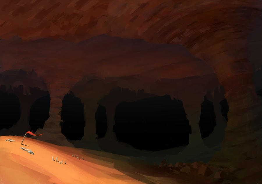 Into the Abyss by Purpleground02
