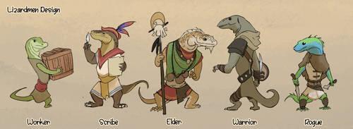 Lizardmen Design by Purpleground02