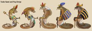 [Sunken Haven] Snake Queen and King