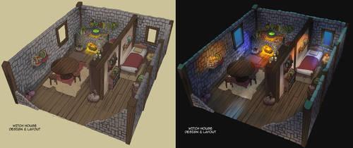 Witch House Design by Purpleground02