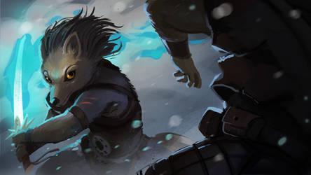 [Commission] Blizzard Fight