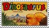 Dinosaurus stamp by Azenor