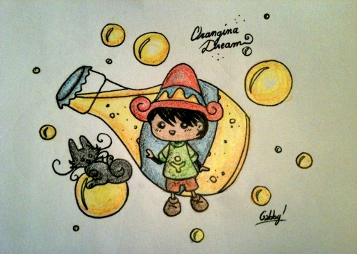 Orangina Dreams by Azenor