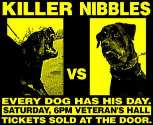 Killer vs. Nibbles by BiggStankDogg