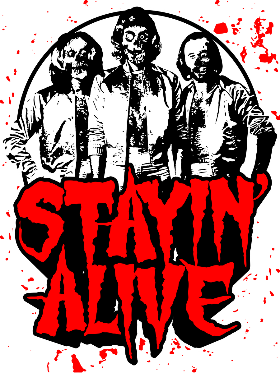 stayin alive zom bee gees by biggstankdogg on deviantart