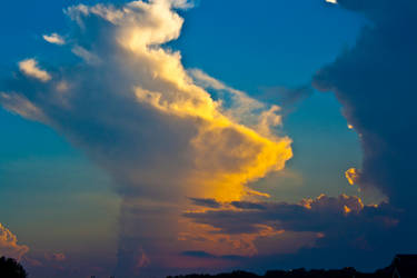 Sunset Storm Clouds by SarahCB1208