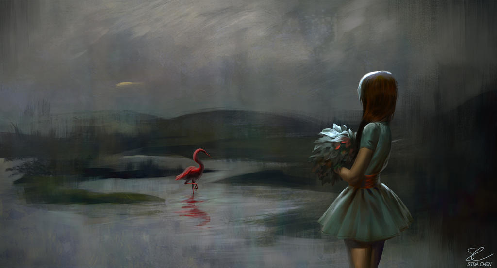 Red Lady by Junedays