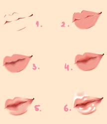 Lips - Tutorial by Kipichuu