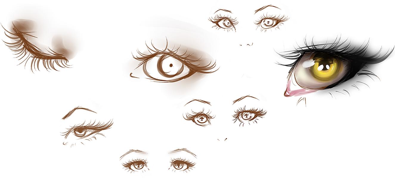 Eyes Studies #1 by Kipichuu