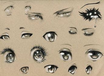 Eye Studies #2 by Kipichuu
