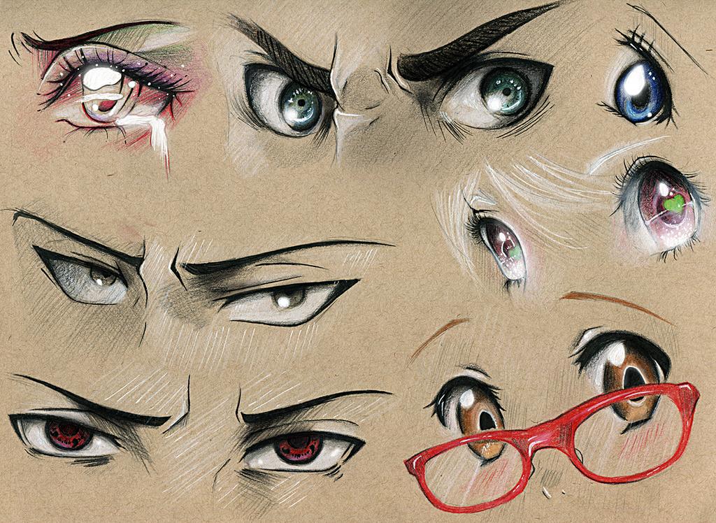 Eye Studies #3 by Kipichuu