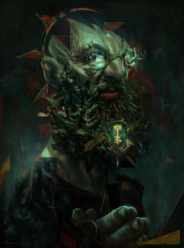 Scholar (ImagineFX Workshop) by rafa-insane