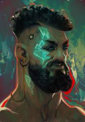 The Cyberdude | Study by RafSarmento