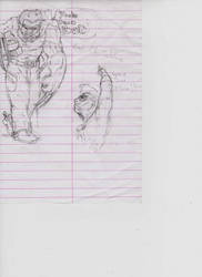 Wolvering sketch