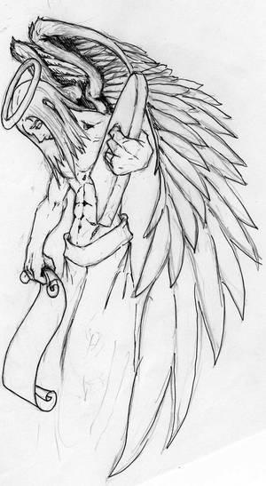 Angel Tombstone