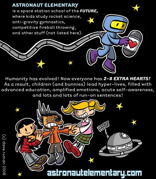 astronaut elementary promo by yaytime