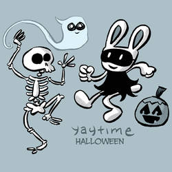 Halloween Mix CD by yaytime