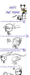 Nyu's Art Meme by Leaum