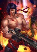 Rambo by JIROODD