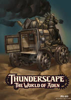 SteamWagon-Thunderscape project by JIROODD