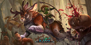 GiantJackelope by JIROODD