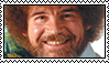 Bob ross stamp by HANNAHCRACKanEGG